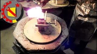 Casting a Custom Coin in Silver