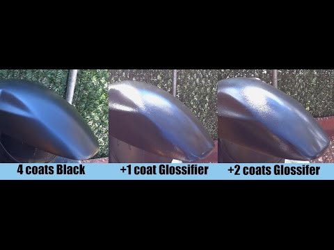 PlastiDip: 1 vs 2 Coats of Glossifier