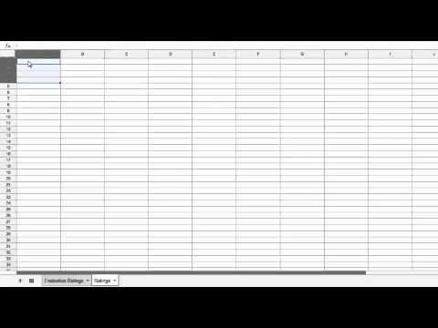 Add Custom Drop down Menus to Google Spreadsheets