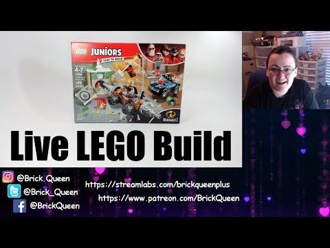 LIVE BUILD - LEGO Incredibles 2 Underminer Bank Heist 10760