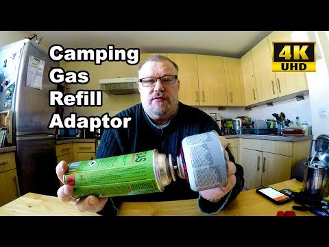 Camping Gas - Cartridge Refill Adaptor