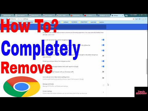 How to Delete the Chrome Browser History || Auto Fill Data || Cache || Permanently  [HINDI]