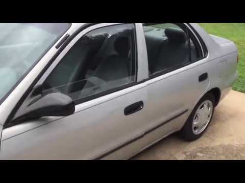 Ignition Lock Cylinder Replacement Toyota Corolla super easy less than 5 minutes.