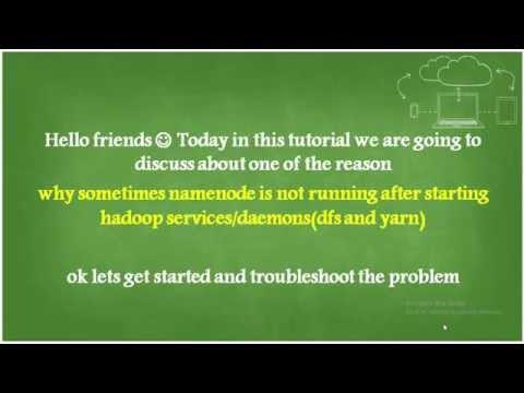 Hadoop : NameNode is not running