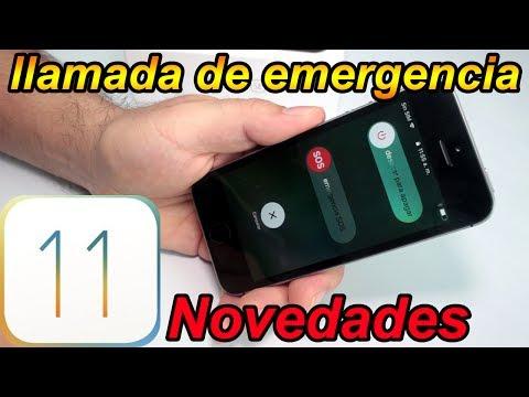 Cómo hacer llamada de emergencia en iPhone - iOS 11 Mejores Funciones Parte 1