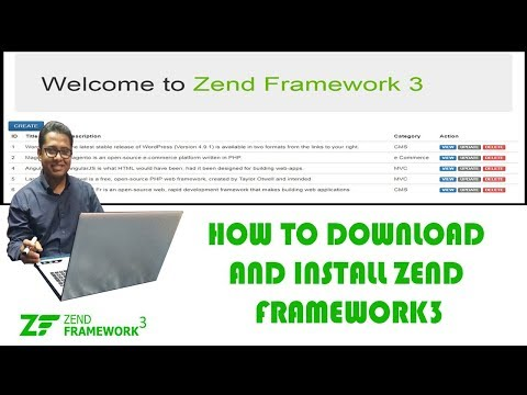 How to download and install Zend framework 3 in localhost Part-1