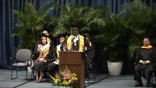 Dallas ISD graduate shares his reflections to the Class of 2017