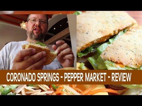 Pepper Market Food Review Disney's Coronado Springs Resort