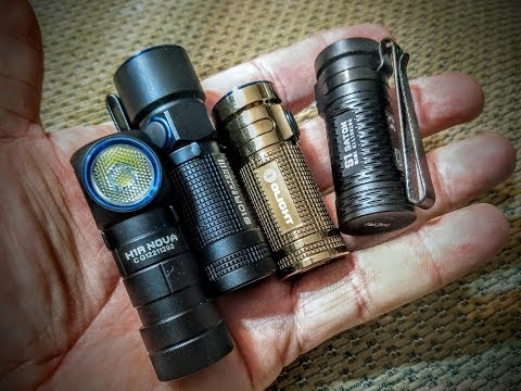 comparison of S1, H1, S10, and S1 MINI by olight