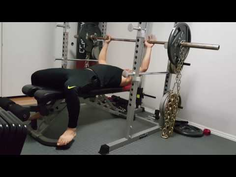 How to Safely Bench Press without a spotter
