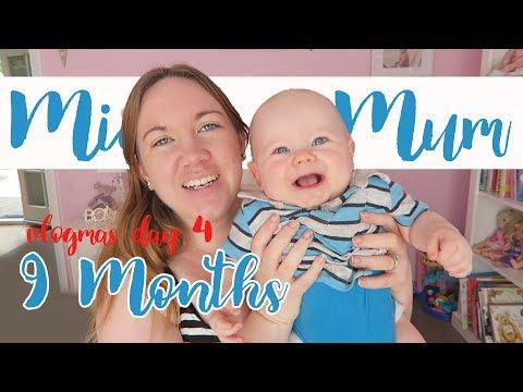 Micah & Mum | Sleeping through the night! | Vlogmas day 4