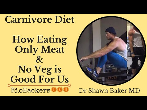Dr Shawn Baker: Carnivore Diet (Zero Carb Diet Plan) Results & Benefits