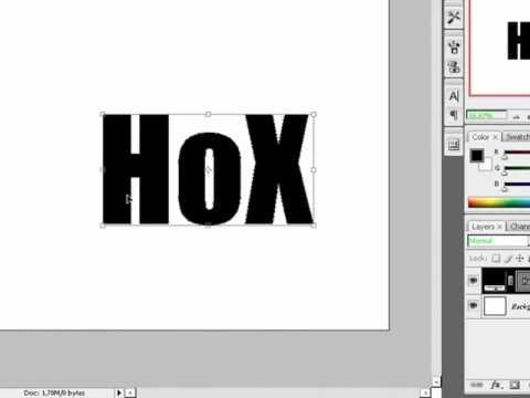 Photoshop CS3 | Create easy 3D text
