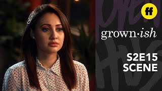 grown-ish Season 2, Episode 15   Ana & Aaron Want Different Things   Freeform
