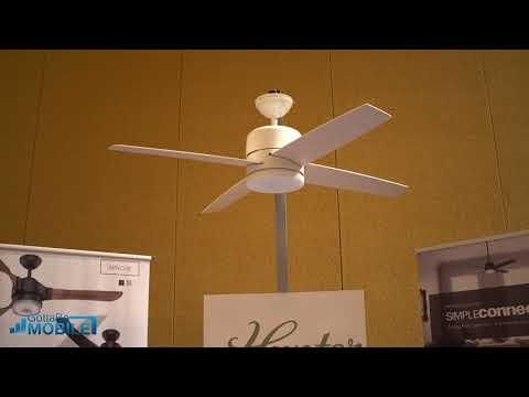 Hunter Smart Ceiling Fan: Control with Google Assistant