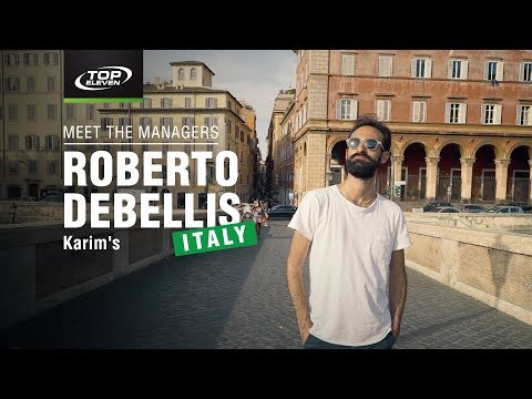 Meet The Managers #9 | Roberto from Italy | Top Eleven