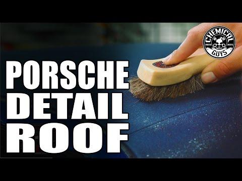 Convertible Top Care - Chemical Guys Detail Garage: Porsche Boxster Part 4