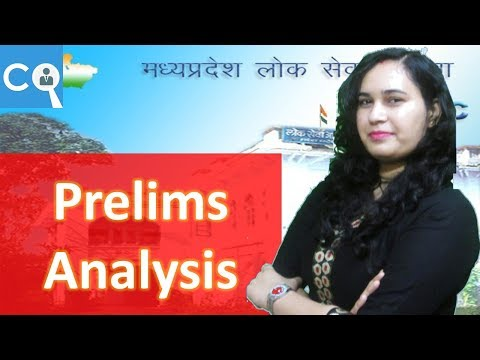 MPPSC 2018 Pre Analysis