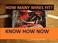 How Many Wires Fit in a Junction Box?