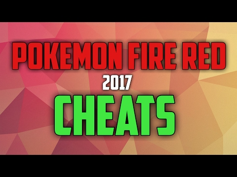 Pokemon Fire Red Cheats for GBA4iOS   iOS 10.1-10.2.1 2017 FOR CODEBREAKER AND ACTION REPLAY