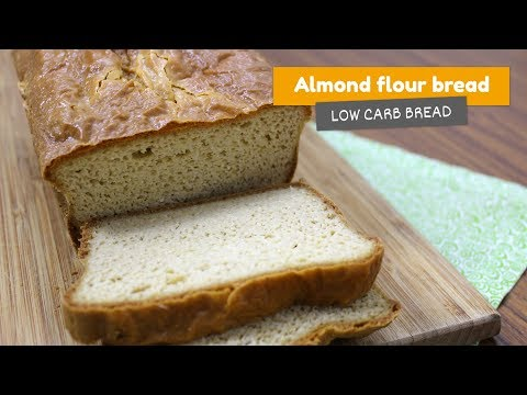 Almond flour BREAD 🍞• LOW CARB BREAD #11