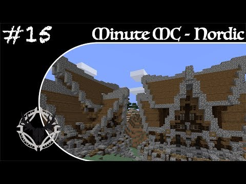 Minute Minecraft - Time Lapse - Nordic Village - Ep.15