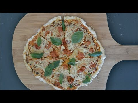 Quick and easy 2 ingredient pizza dough recipe
