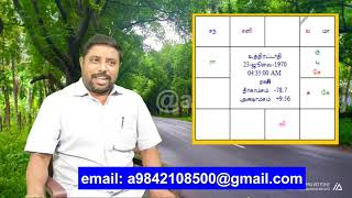 Lord of 5th house friday videos #18 by DINDIGUL P CHINNARAJ