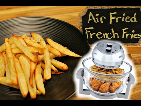 Air Fryer French Fries - big boss air fryer - healthy recipe channel - air fryer  - airfryer