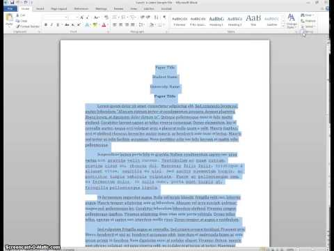 Changing Font in Entire Document in Word 2010 (Windows)