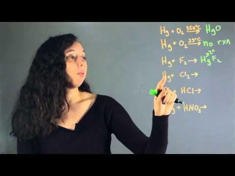Reactive vs. Non-Reactive Mercury : Lessons in Chemistry