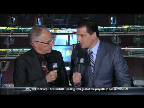 NBC Sports NHL Live Pre Game part 2. 6/22/13 Boston Bruins vs Chicago Blackhawks NHL Hockey
