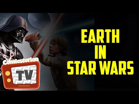 Where is Earth in Star Wars