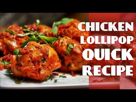 Chicken Lollypop Recipe By Chef Food | Super tasty Chicken Lollipop | Easy Chicken Starter