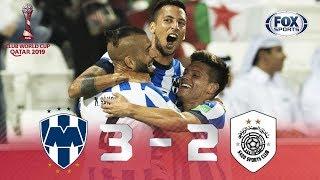 Rayados - Al-Sadd [3-2] | GOLES | Cuartos de final | Mundial de Clubes 2019 | FOX Sports