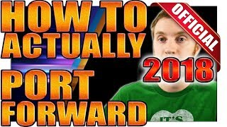 How To] Port Forward Tutorial - Beginner/Advance Guide For