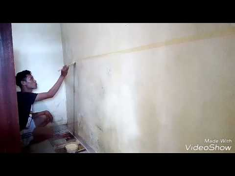 How to make wood grain effect on your wall