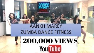SIMMBA: Aankh Marey | Ranveer Singh | Bollywood Fitness | Arwin Cena | ZUMBA Dance | bolly workout
