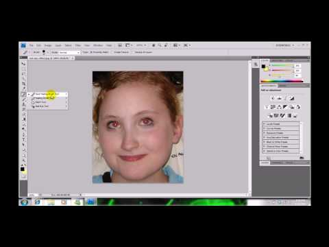 Photoshop-How to Get Rid of Red Eyes