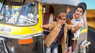 CHOTU KI Riksha Wali | छोटू की रिक्शा | Khandesh Hindi Comedy | Chotu Dada Comedy Video
