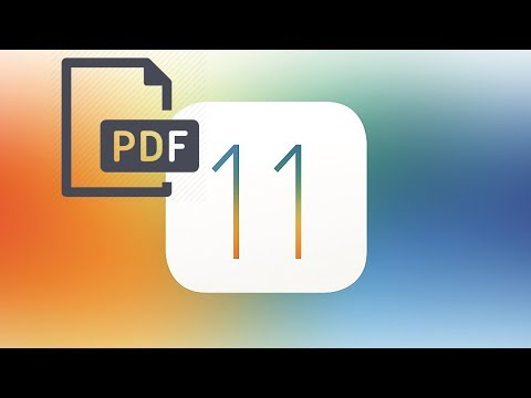 HOW TO CREATE A PDF FILE DIRECT FROM SAFARI ON IOS 11