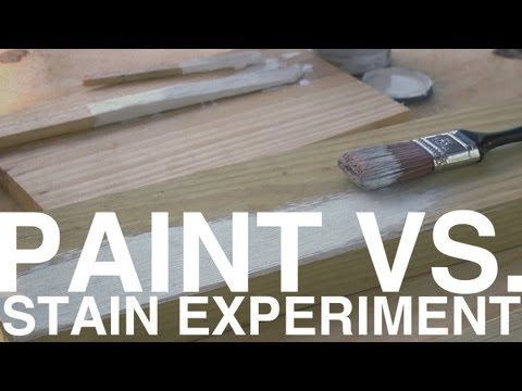 Paint vs. Stain Experiment | Day 99 | The Garden Home Challenge With P. Allen Smith