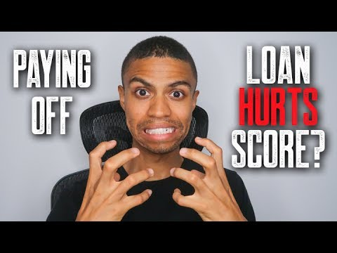Paying Off A Loan Can HURT My Credit Score? || My Credit Score Didn't Go Up After Paying Loan