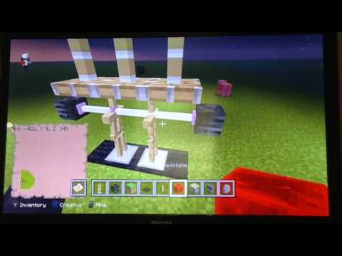 How to build a bench press in Minecraft- Exclusive Builds