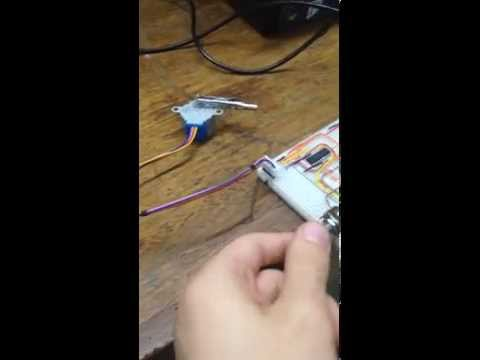 Speed Control of a Stepper Motor