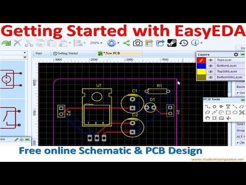 PCB Artist Schematic Video Capture Online Video 4 - Free Pcb Design ...