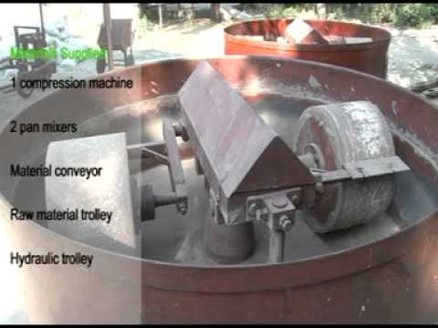 Making of Fly Ash bricks