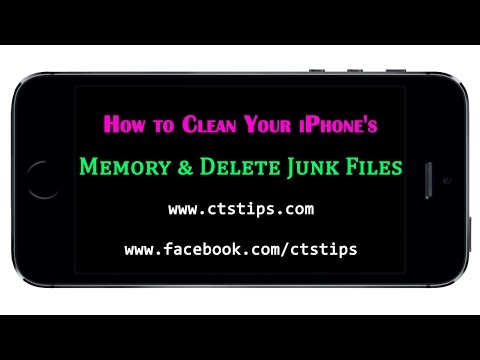 How to Clean Your iPhone's Memory  & Delete Junk Files