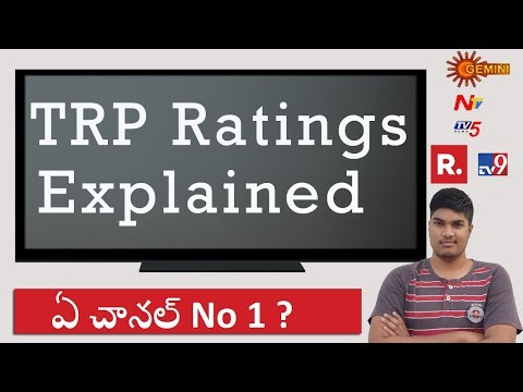How TRP Ratings are calculated - Which channel is No 1 | in Telugu
