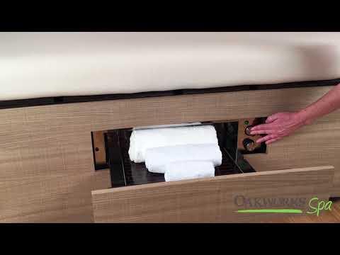 Oakworks Spa Warming Drawer